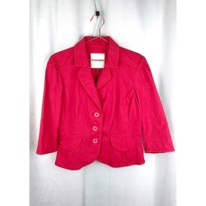 Sonoma Red Blazer Jacket